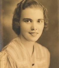 Catheryn Mae Mudgett  April 23 1921 –