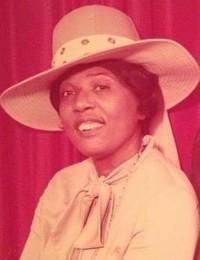 Bertha Mae Benson  July 17 2018