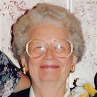 Anna Mae Cramer  October 7 1922  March 31 2018