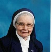 SISTER MARY GEORGE SENDERAK  January 7 1925  January 29 2019