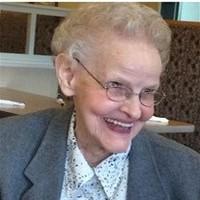 Verna Caroline Lewis Hawley  December 5 1923  December 15 2018