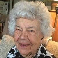 Gladys Sanders Merklin  October 17 1913  August 15 2018