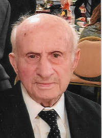 JAMES COSTANZO  June 14 1918  May 2 2019 (age 100)
