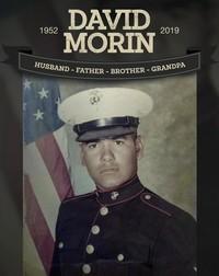 David Morin  June 9 1952  May 10 2019