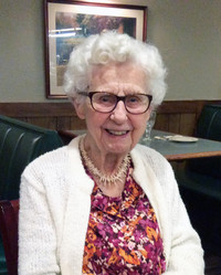 Margaret B Damits McKean  June 6 1917  May 26 2019 (age 101)