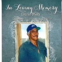 Dario Pina  June 1 1945  May 29 2019