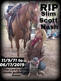 Scott Slim Roland Nash  November 9 1971  June 17 2019 (age 47)
