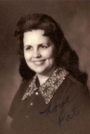 Patricia Lorraine Jacobs  December 12 1934  June 25 2019