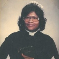 Bishop Dr Elsie T Patrick  March 3 1941  May 27 2019