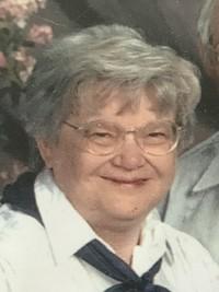 "Bonita ""Bonnie Benson Rebelein  December 2 1943  August 24 2019 (age 75)"