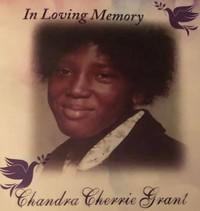Chandra Cherrie Grant  January 6 1962  August 23 2019 (age 57)