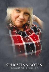 Christina Lynn Roten  October 27 2019  October 4 2019