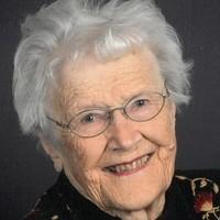 Edith E Larsen  June 26 1920  October 11 2019