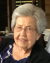 Mary Virginia Pendergrass  September 14 1927  October 19 2019