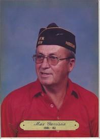 Max I Garrison  August 3 1929  November 18 2019 (age 90)