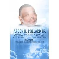Arden Benjamin Pollard Jr  March 7 1953  December 2 2019