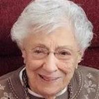 Mary Belle Weinstein  January 8 1921  November 7 2019