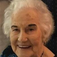 Wanda Mae Bergeron  May 26 1925  January 28 2020
