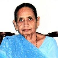 Subhadra Soni  May 26 1925  February 6 2020