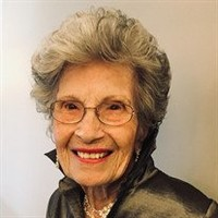 Elzora Mae Horner Wangemann  June 12 1919  February 14 2020