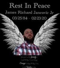 James R Jancovic Jr  Sunday February 23rd 2020