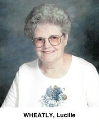 Lucille Greenwood Wheatley  October 5 1931  April 13 2020 (age 88)