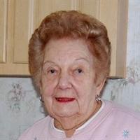 Christina G Ferrante  October 12 1924  April 18 2020