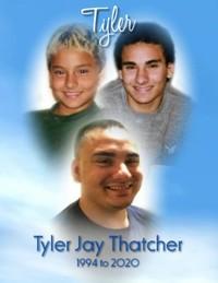 Tyler Jay Thatcher  January 19 1994  June 12 2020 (age 26)